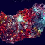 Látványos térkép mutatja meg, hol élnek a magukat zsidónak vallók Magyarországon