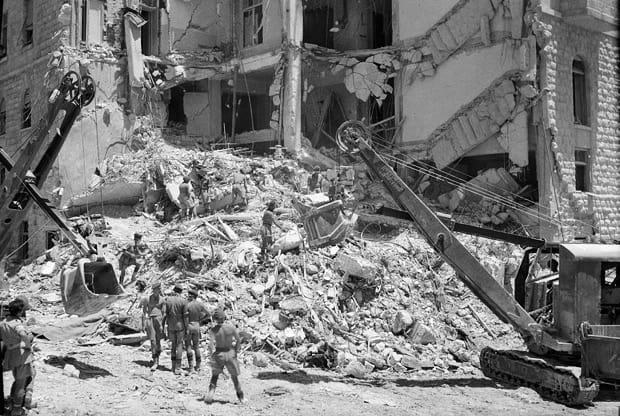 A véres robbantás, amely szerepet játszott Izrael megteremtésében