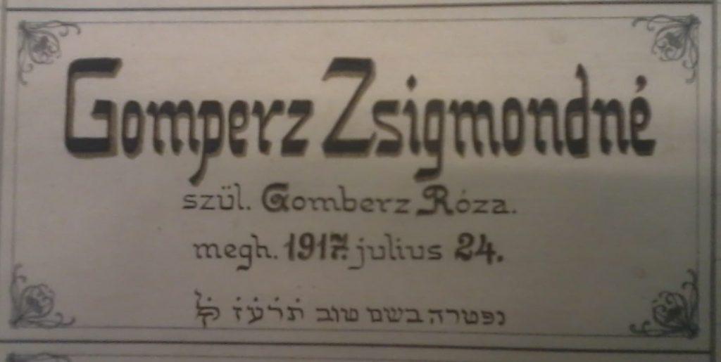 A zsidó nő, aki az elsők között kapott saját jogon nőként kitüntetést