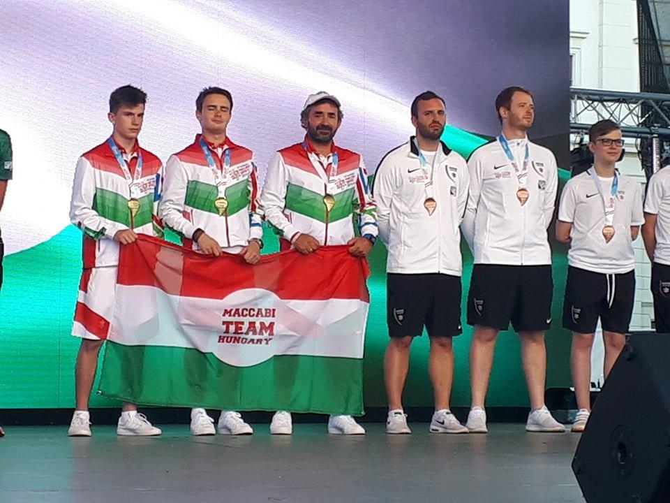 Kimagasló számok: eddig 38 érmet gyűjtött a magyar csapat a Maccabin