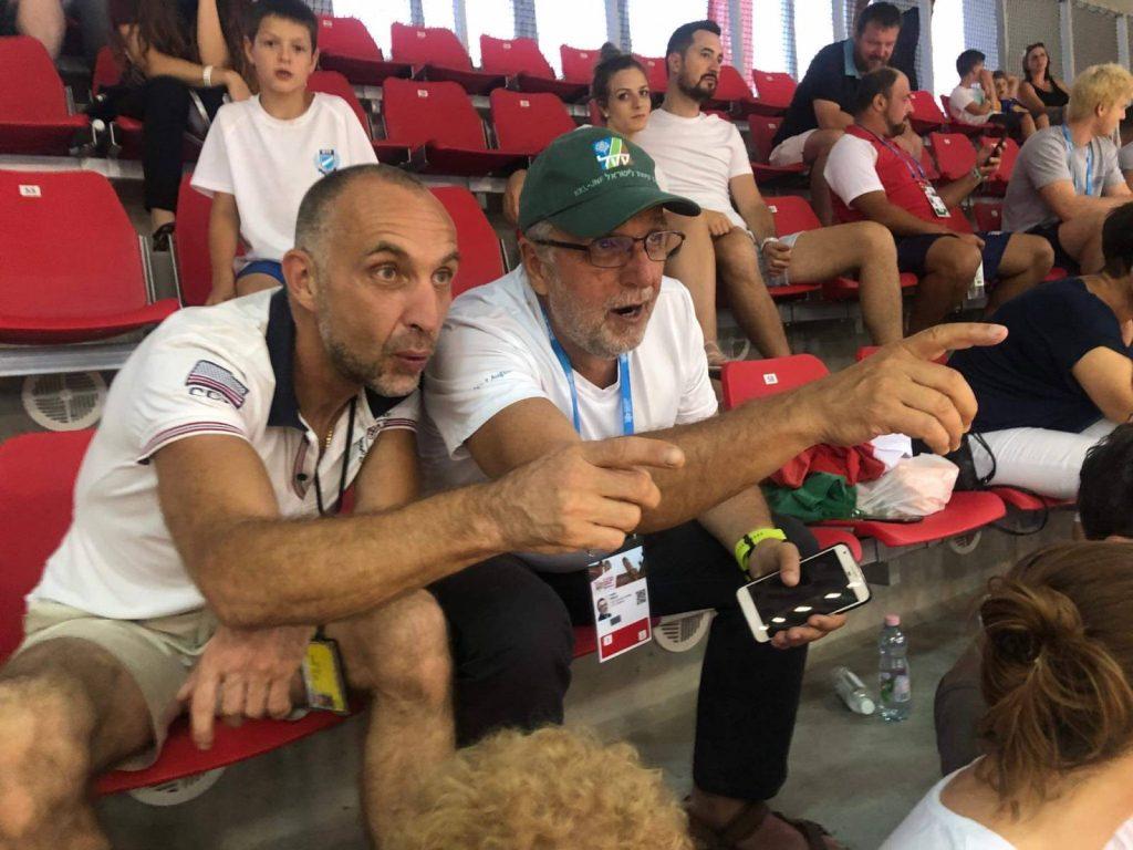 Heisler András is versenyzik a Maccabi Európa Játékokon