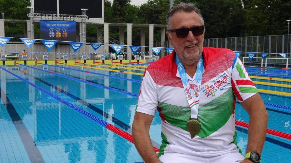 Heisler András aranyérmet szerzett a Maccabi Európa Játékokon