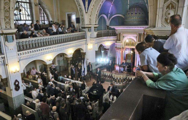 Határozatlan időre bezárták a vilniusi zsinagógát antiszemita fenyegetések miatt