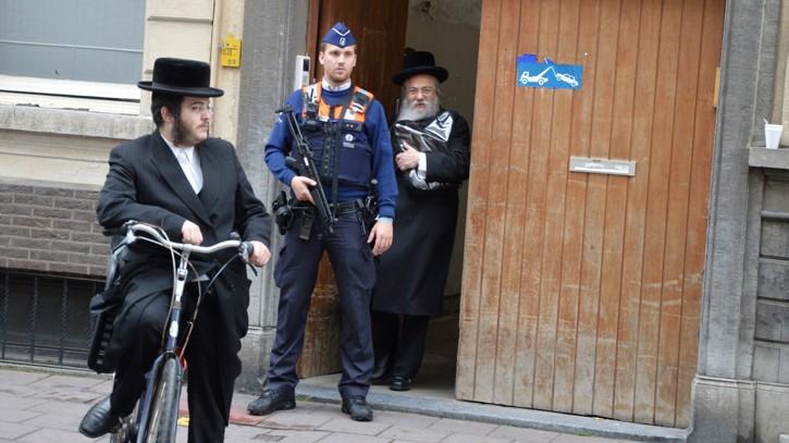 Antwerpen zsidó közösségének saját biztonsági szolgálata van