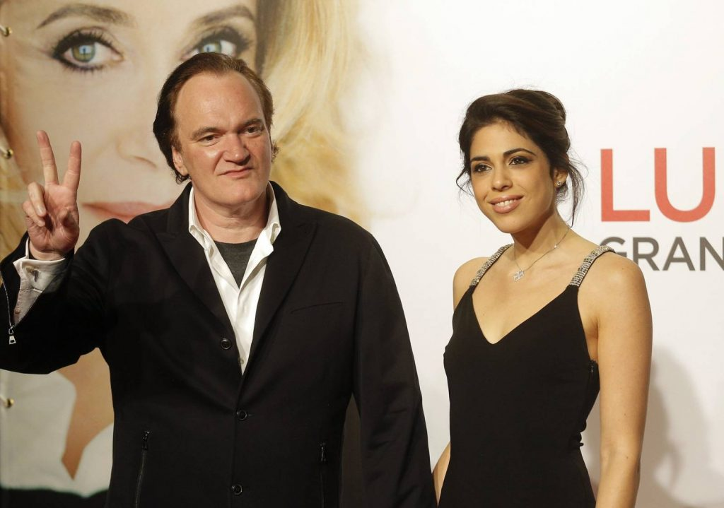 Tarantino és izraeli felesége első gyereküket várják