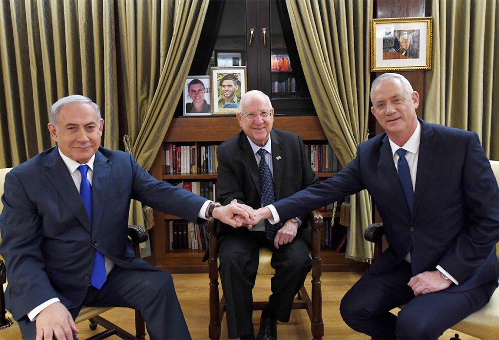 Izraelben egy lehetséges egységkormányról kezdtek tárgyalásokat
