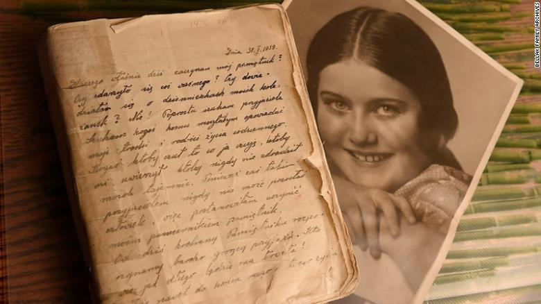 70 év után került elő a lengyel Anne Frank naplója
