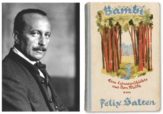 150 éve született a Bambi írója