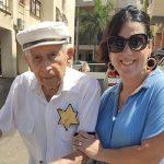 Sárga csillaggal a ruháján ment el szavazni egy holokauszt-túlélő Izraelben