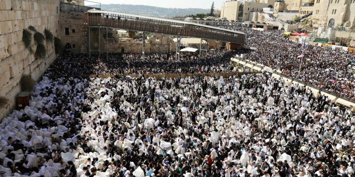 14,8 millió zsidó él szerte a világon