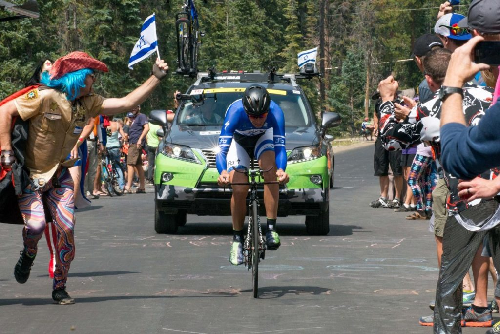 A legmagasabb szintre jutott az izraeli kerékpárcsapat