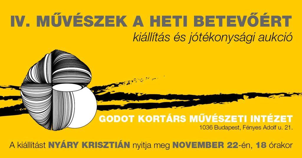 Művészek a Heti Betevőért kiállítás és jótékonysági aukció