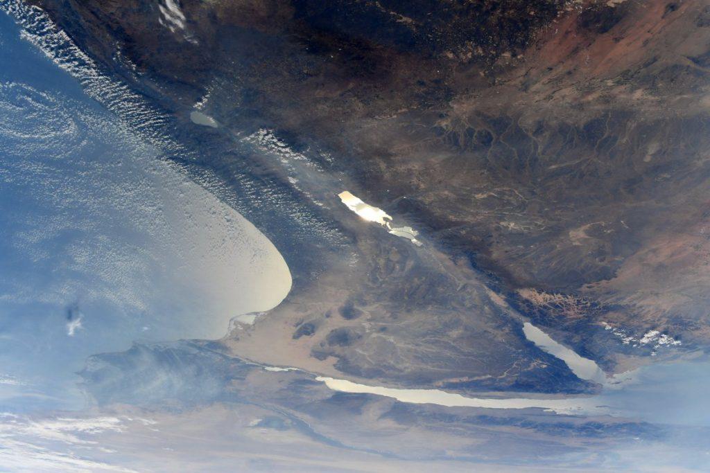 Így néz ki Izrael a világűrből fotózva