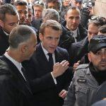 Macron ráüvöltött egy izraeli rendőrre Jeruzsálemben