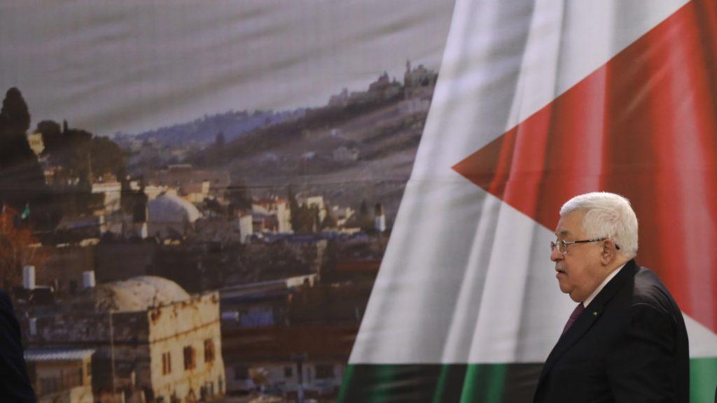 A palesztinokat felháborította a béketerv
