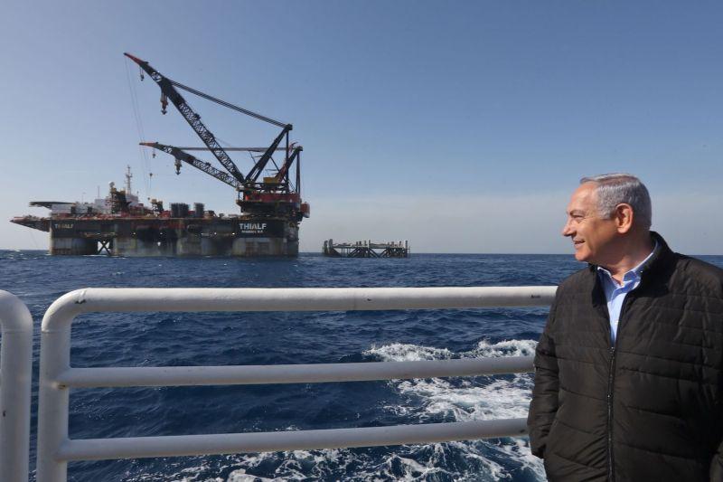 Izraeli gáz érkezik Európába