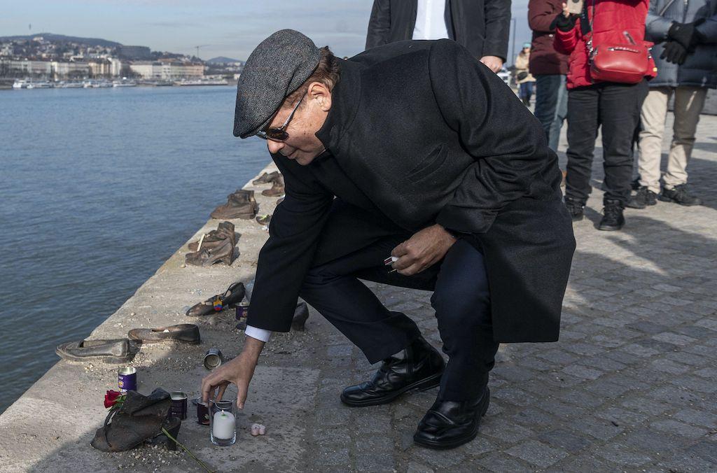 A holokauszt áldozataira emlékezett az új izraeli nagykövet első nyilvános szereplésén