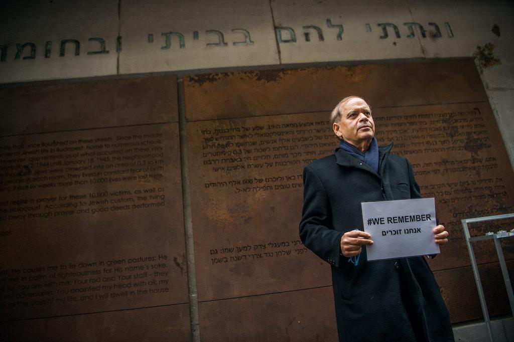 Fahidi Évával emlékezett a budapesti gettó felszabadulásának 75. évfordulója az EMIH