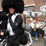 Rovarokként ábrázolják az ortodox zsidókat a belga fesztiválon