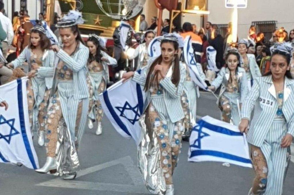 Kicsit félreértelmezték a holokauszt áldozataira való emlékezést egy spanyol karneválon