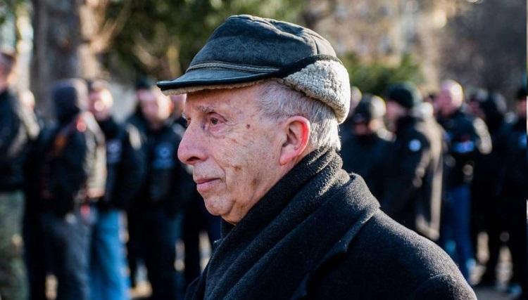 Kardos Péter főrabbi szembenézett a neonácikkal a Városmajorban
