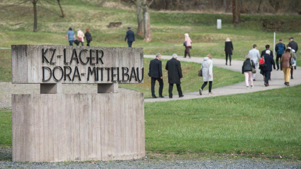 Bombát találtak egy korábbi náci koncentrációs tábor területén