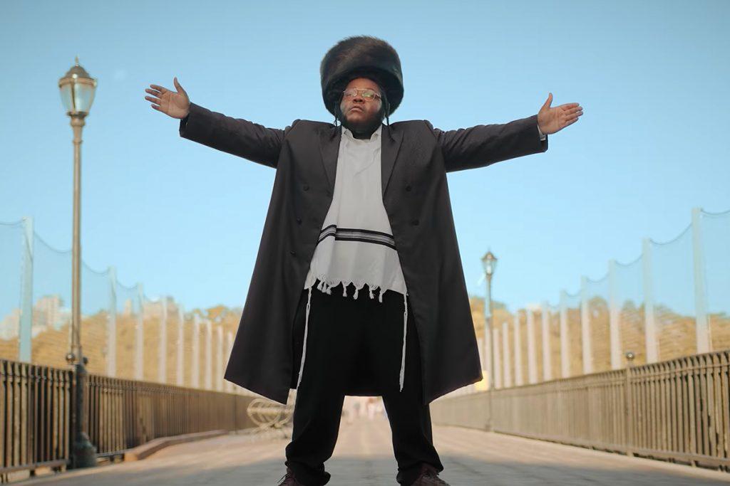 Nissim Black, az ortodox fekete zsidó rapper