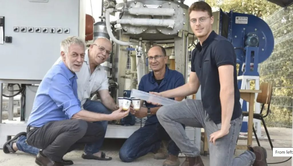 Izraeli kutatók levegőből állítanak elő tiszta vizet