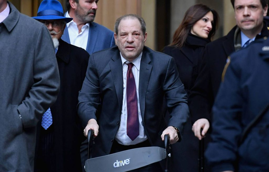 Weinsteinről jelent meg antiszemita plakát Budapesten