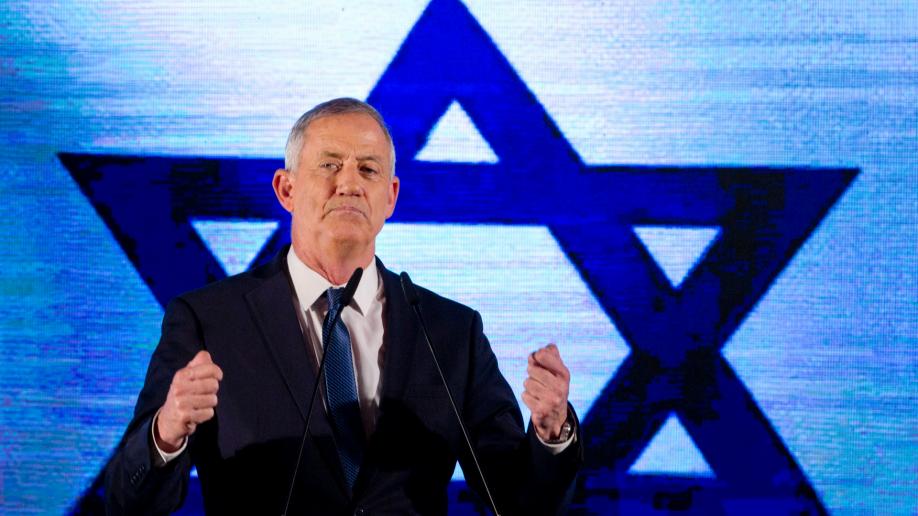 Beni Ganzot bízta meg kormányalakítássalIzraelben az államfő