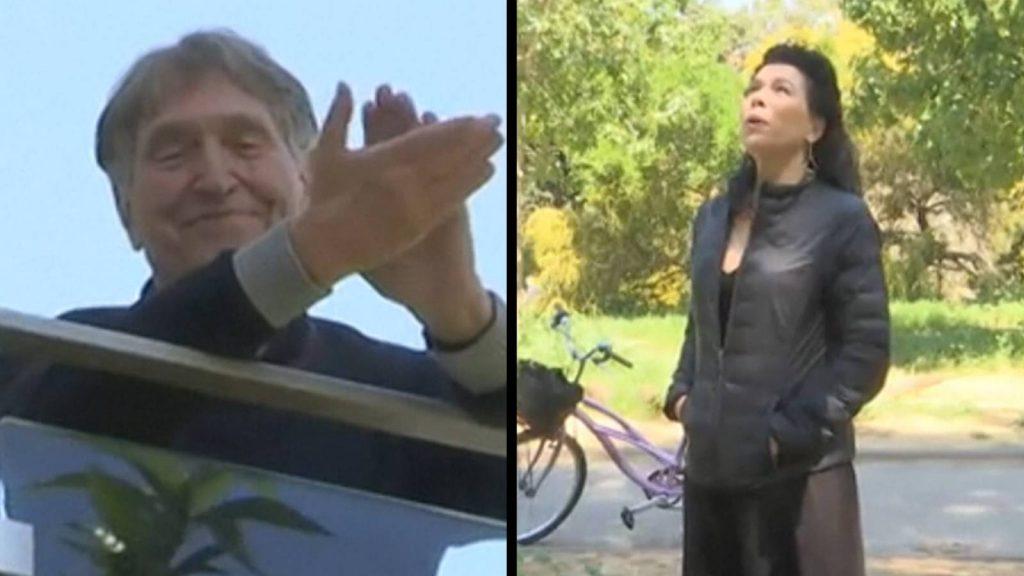 Karanténban lévő apjának adott szerenádot egy izraeli operaénekesnő
