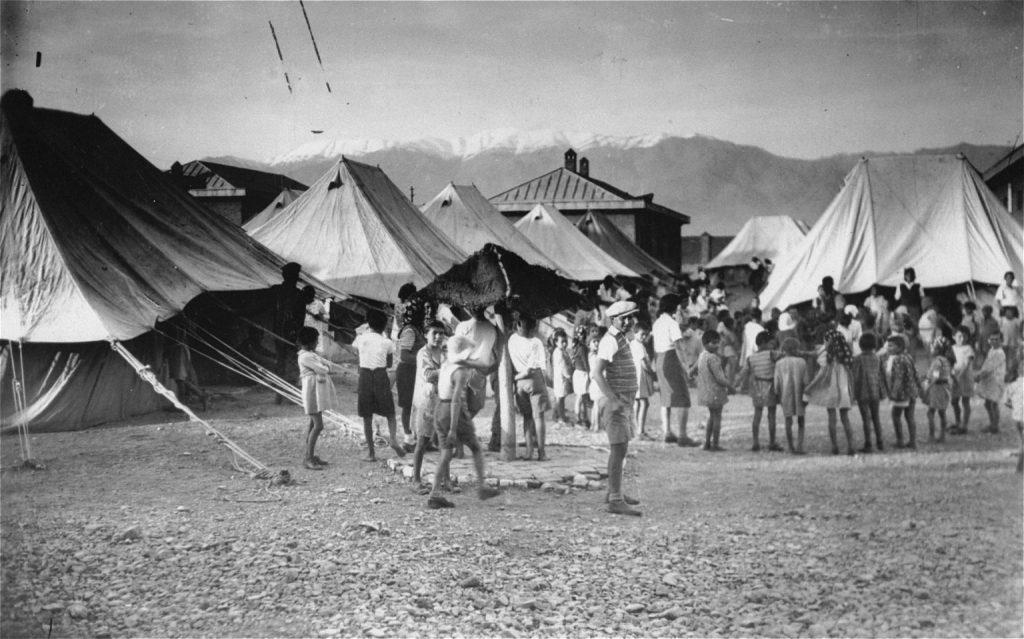Szíria európai menekülteket fogadott be a II. világháború idején