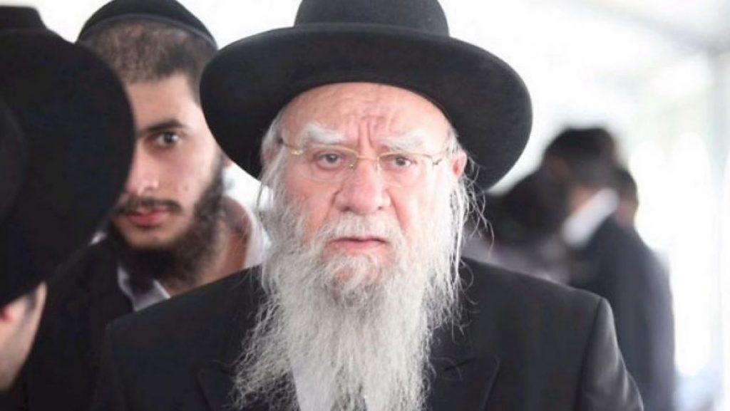 Koronavírusban meghalt Izrael volt főrabbija
