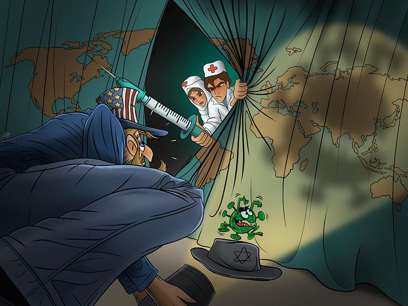 Antiszemita koronavírus karikatúraversenyt hirdettek Iránban