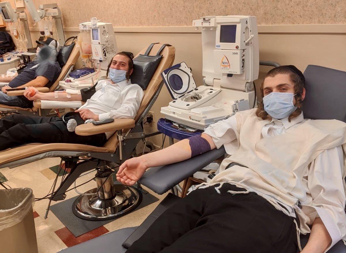 Ortodox zsidók ezrei adományoznak vérplazmát a koronavírus elleni küzdelemhez