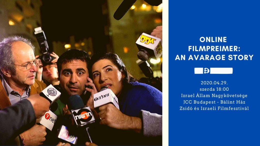 Átlagtörténet – meglepetés online filmvetítés – Izrael72