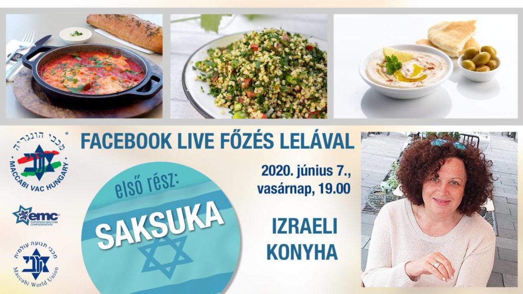 Online izraeli konyha Lelával