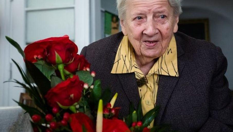 A lengyel és az izraeli elnök is köszöntötte a 101 éves háborús hősnőt