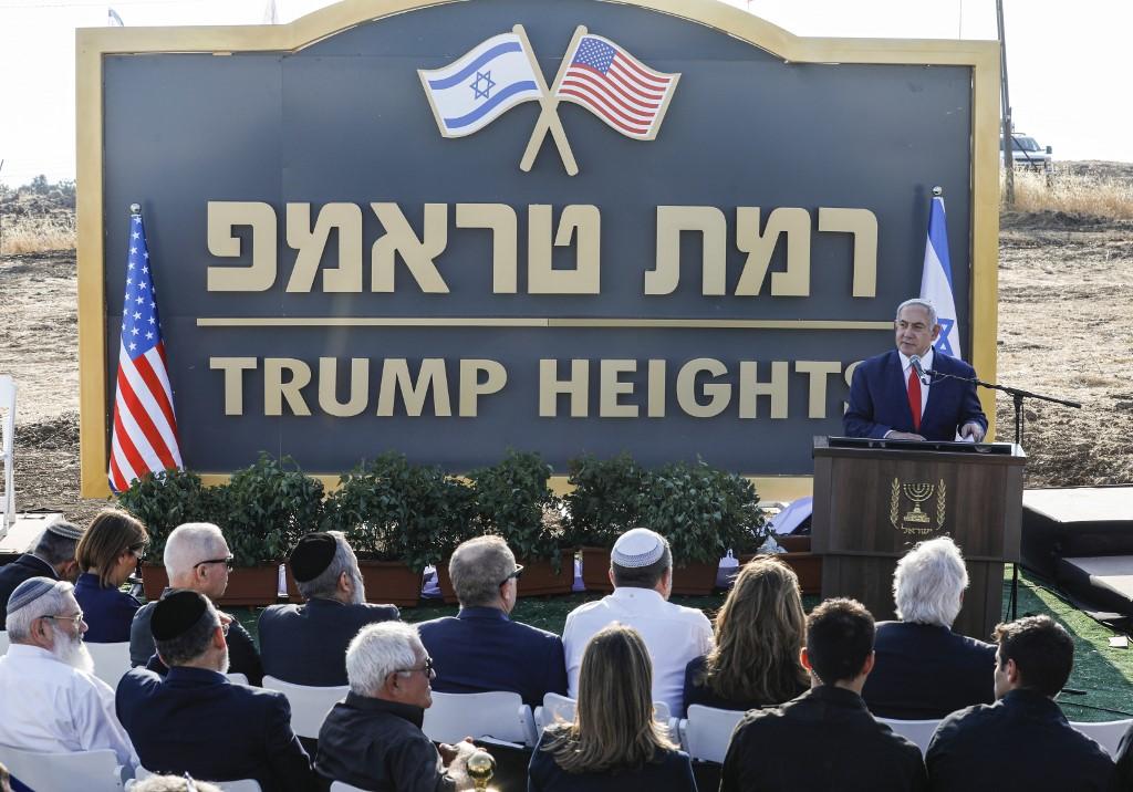 Donald Trumpról elnevezett települést kezdenek építeni Izraelben