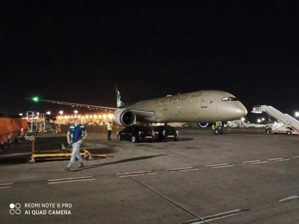 Először érkezett repülőgép egyenesen az Arab Emírségekből Izraelbe