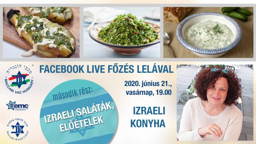 Online izraeli konyha Lelával – 2. rész