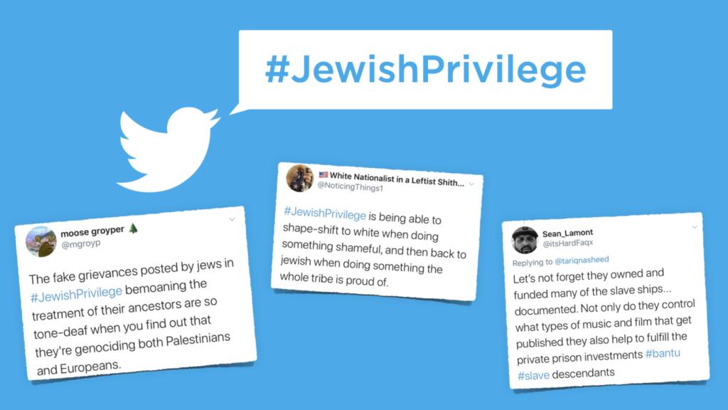 Antiszemita hashtag terjedt a közösségi médiában, aztán a zsidók közbeléptek