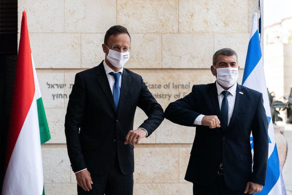 Szijjártó Izraelben: Magyarország sosem fog támogatni Izraellel szemben előítéletes határozatokat