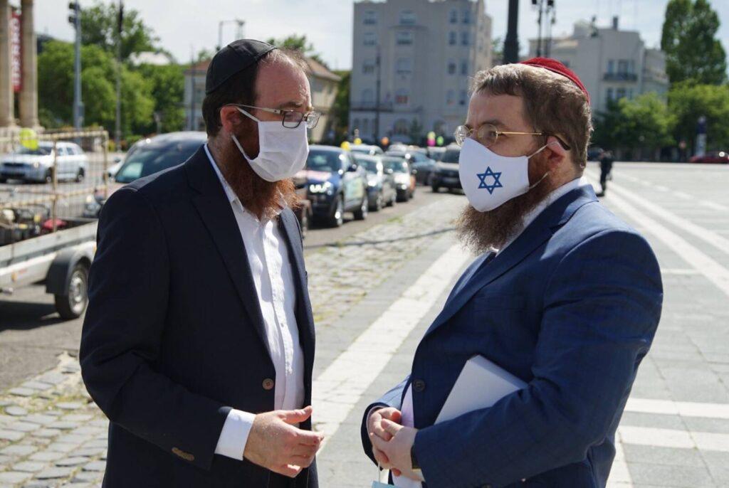 A második hullám küszöbén érte el a koronavírus-járvány a hazai zsidóságot