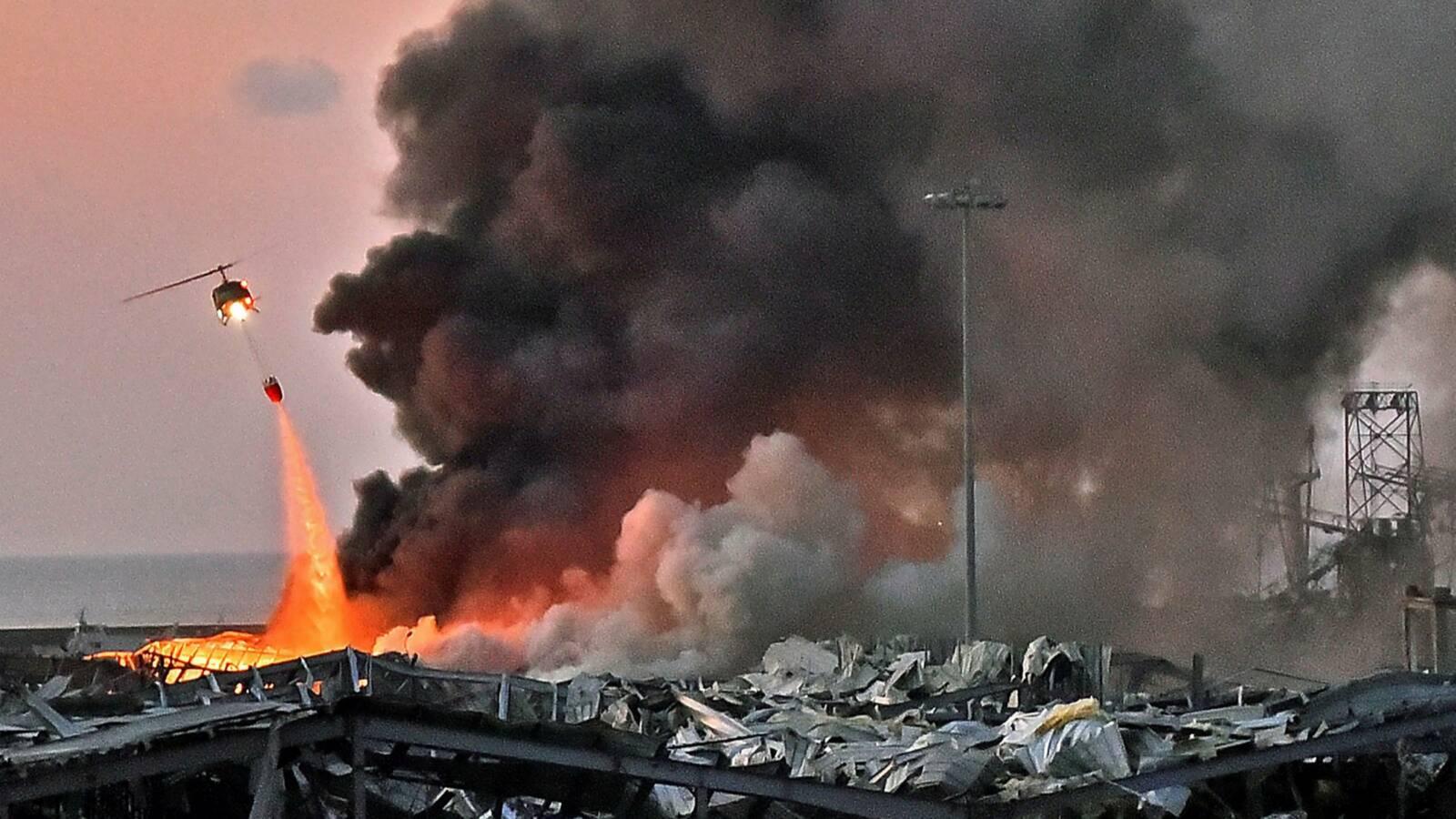 Bejrúti robbanás: Izrael humanitárius segítséget ajánlott fel Libanonnak