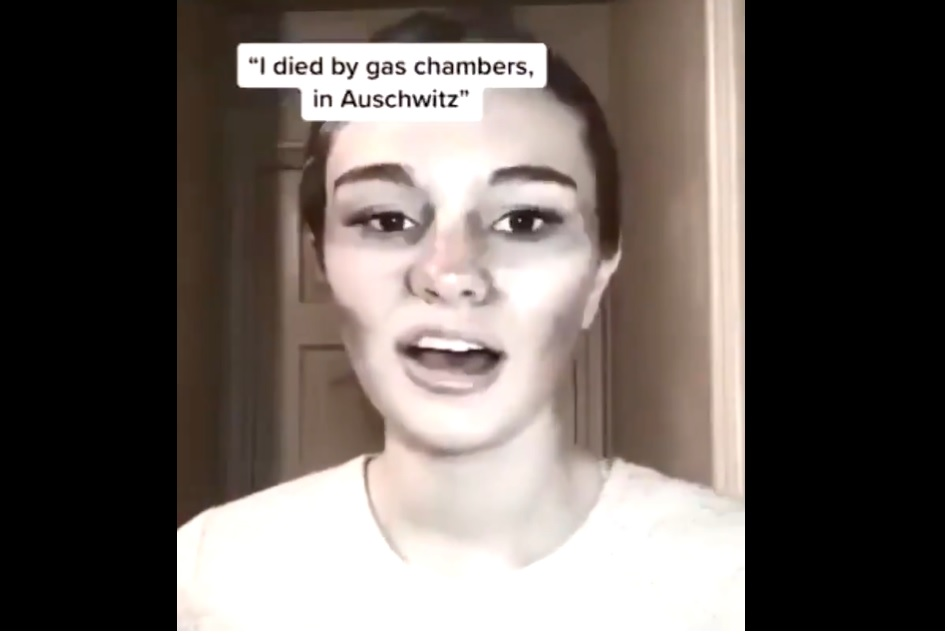 Új trend a TikTokon: tinédzserek holokauszt áldozatoknak maszkírozzák magukat