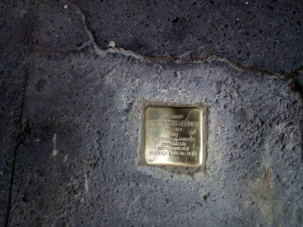 Újabb botlatókövek emlékeztetnek a holokauszt áldozataira Budapesten