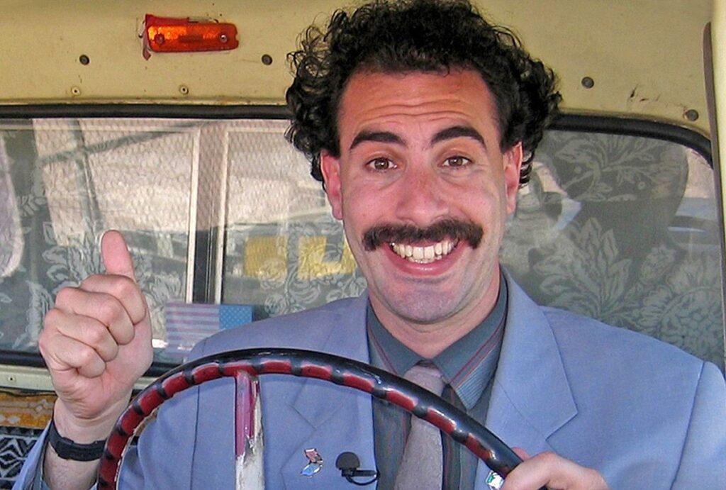 Az amerikai elnökválasztás előtt érkezik a Borat második része