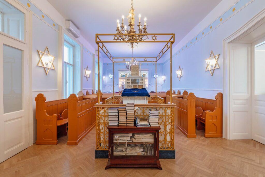 Felavatták az újjáépített zuglói zsinagógát