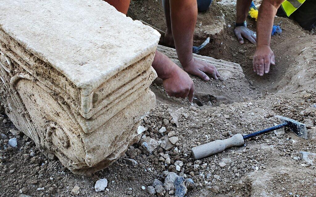 Az első Szentély idejéből származó palota maradványai kerültek elő Jeruzsálemben